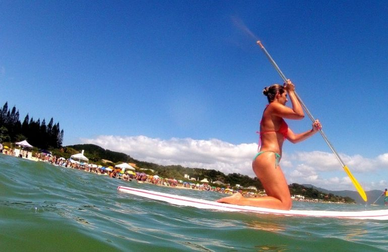 Stand up Paddle em Jurerê